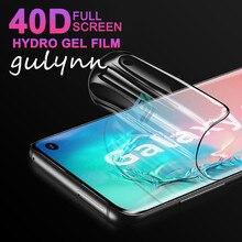 Hidrogel Filme soft Para Samsung Galaxy UM M 10 20 30 40 50 60 70 80 90 A50 A2Core A51 40D Filme Protetor de Tela Para J4Core J6Plus