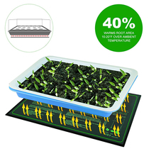 Warmer Seed-Germination Heat-Mat Propagator Plant Hydroponic for Waterproof