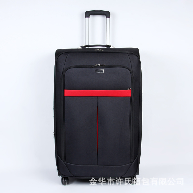Manufacturers Direct Selling Solid Color Oxford Cloth Waterproof Business Cloth Travel Trolley Universal Wheel Boarding Travel L