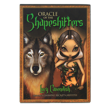 hot selling shapeshiffers Oracle Cards Board Deck Games Palying Cards For Party Game