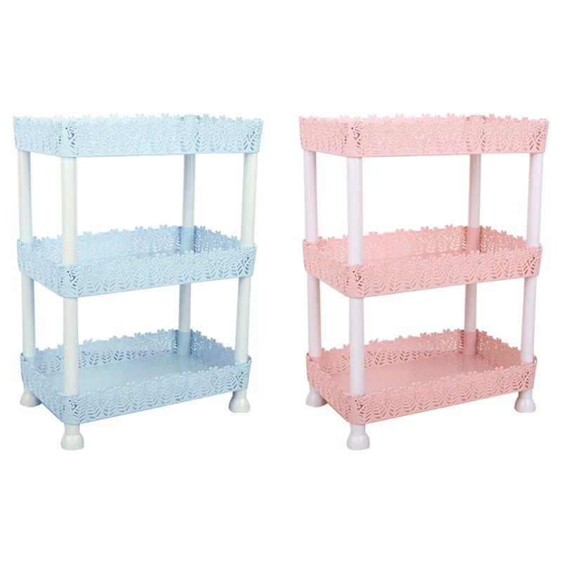 2/3 Layer Bathroom Shelf Rack Bathroom Storage Organizer For Shampoo Cosmetic Basket Holder  Living Room Organizer Holder