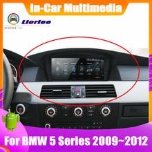 자동차 전자 지능형 시스템 멀티미디어 플레이어 BMW 5 535i/528i/530i/525i E60/E61/E62/E63 GPS 네비게이션 안드로이드 화면