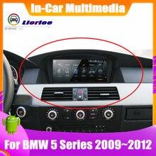 רכב אלקטרוני אינטליגנטי מערכת מולטימדיה עבור BMW 5 535i/528i/530i/525i E60/E61/e62/E63 GPS ניווט אנדרואיד מסך