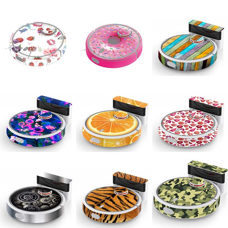 New Cartoon Sticker 9 Color For Choose Beautifying Protective Dustproof Film For Robot Vacuum Cleaner Parts Accessory