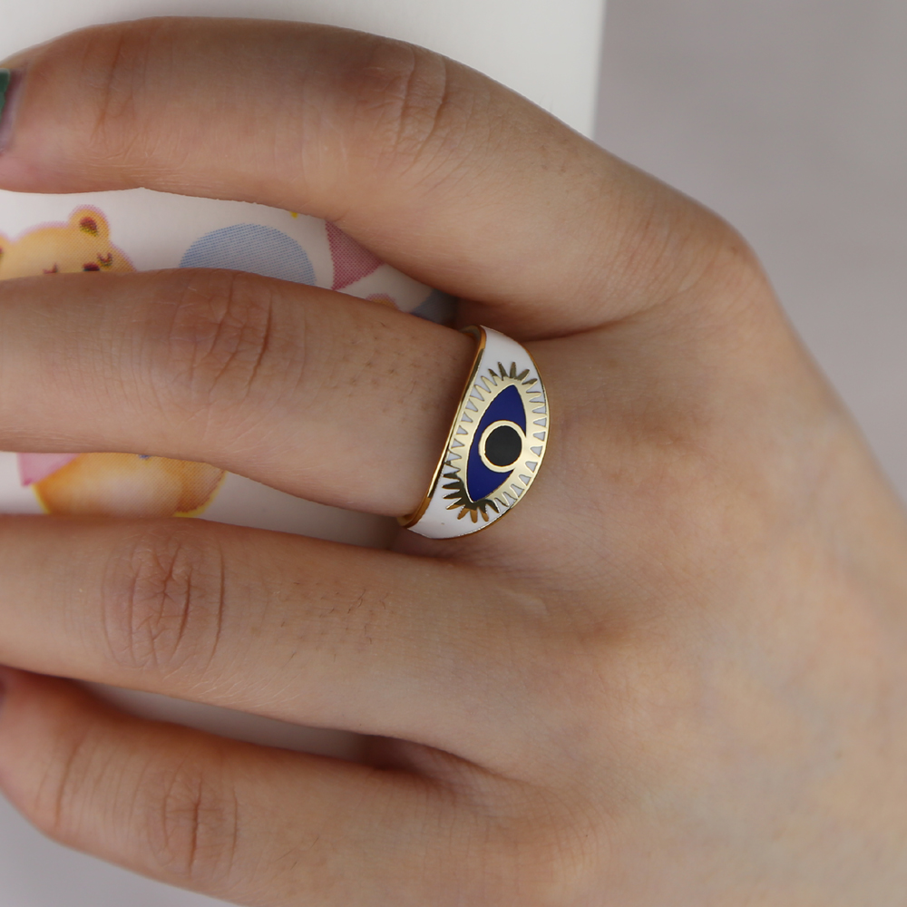 brass ring H size 5 6 7 8 (7)