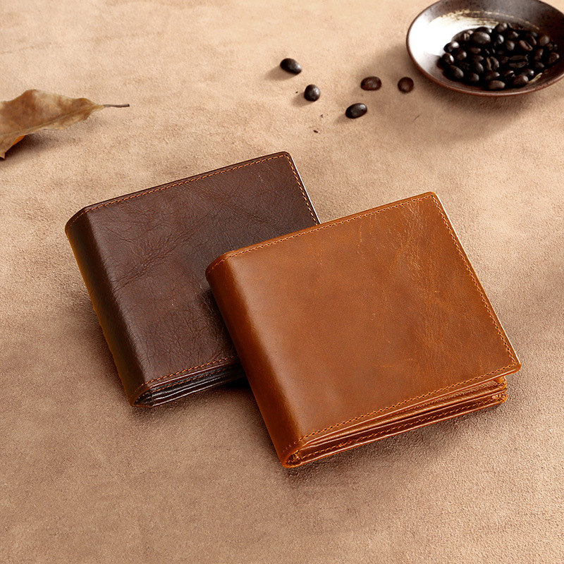 Multi-function Rfid Leather Wallet