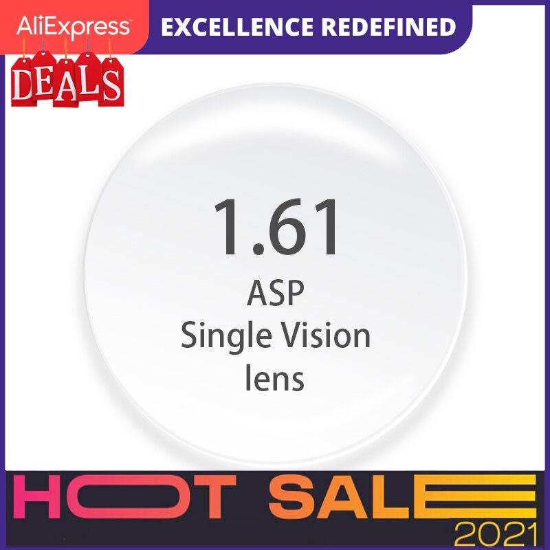 1.61 Index Prescription Lenses Cr-39 Resin Aspheric Glasses Lenses For Myopia/Hyperopia/Presbyopia Eyeglasses