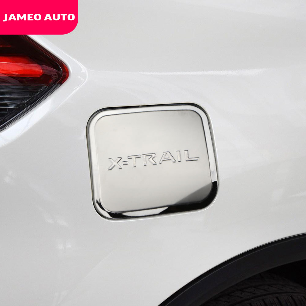 Car Tank Cover for Nissan X-Trail X Trail XTrail T32 2014 - 2019 Stainless Steel Fuel Gas Cap Tank Oil Cover Gas Cap