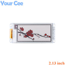2.13 Inch E Papier Module E Ink Display Screen Module Zwart Rood Wit Kleur Spi Ondersteunt Gedeeltelijke Refresh voor Arduino