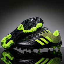 Sneakers Men Football Shoes Soccer Cleats Boots Long Spikes TF Spikes Sneakers S