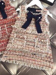 Image 4 - תינוק בנות מערבי אופנה אפוד שמלת מסיבת שמלת ילדה המפלגה נסיכת שמלה חדש KidsSpring סתיו חורף בגדים