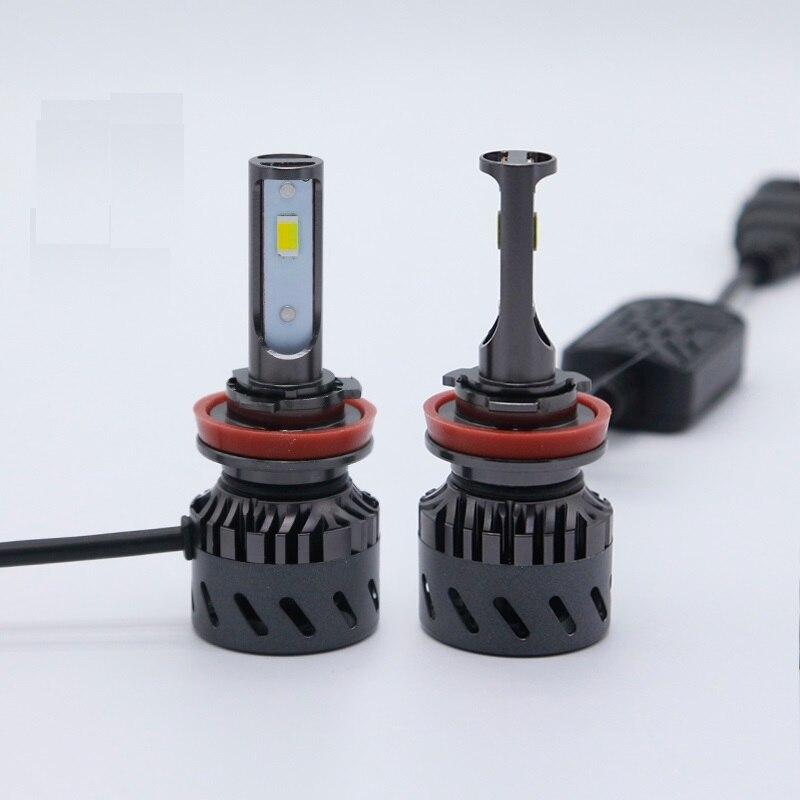PAMPSEE E380 Tricolor Auto Headlights H1 H3 H7 H8 H9 H11 9005 9006 3000K 4300K 6000K Car LED Headlight Auto Bulbs three color