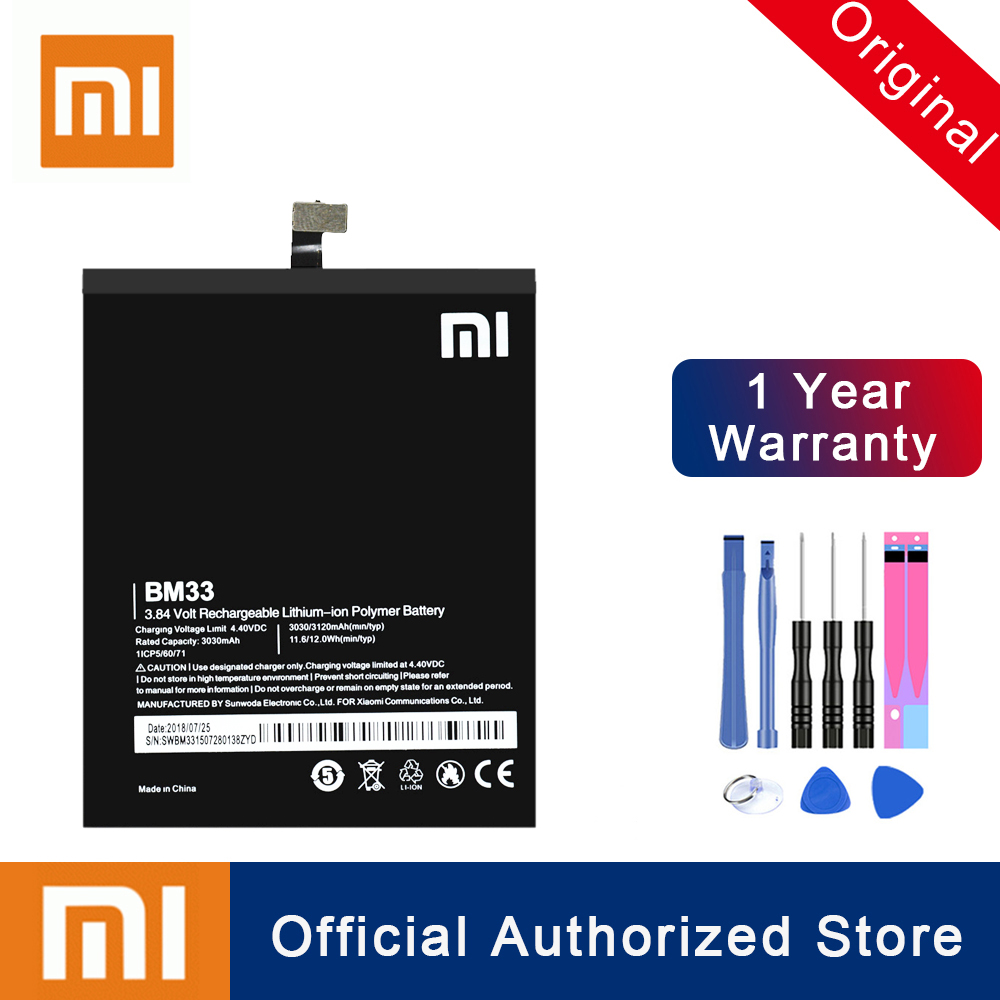 Xiao <font><b>Mi</b></font> 100% Original BM33 For XIaomi <font><b>Mi</b></font> <font><b>4i</b></font> Mi4i M4i Replacement <font><b>Battery</b></font> 3120mAh Real Capacity Rechargeable Phone Batteria Akku image