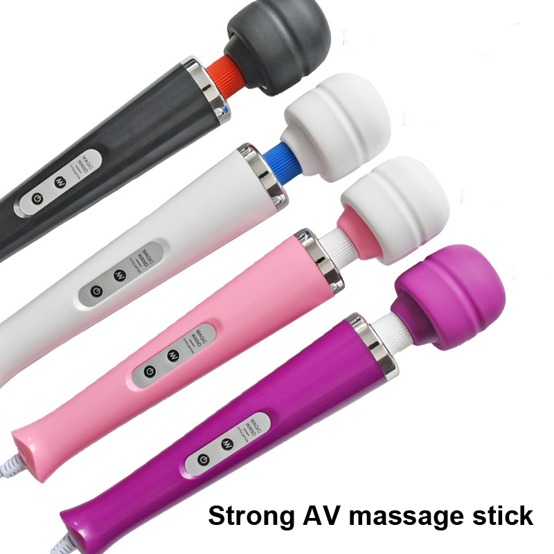 New 10 Speeds Magic Wand Massager Big Magic Wand Massage Stick AV Vibrators Sexy Clit Vibrator