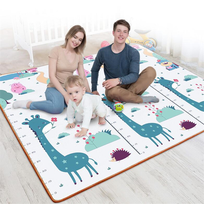 Kids Rug Puzzle Baby Crawling Play Mat Developing Mat Toys For Children's Mat Waterproof EPE Giraffe Eco-friendly Carpet Playmat