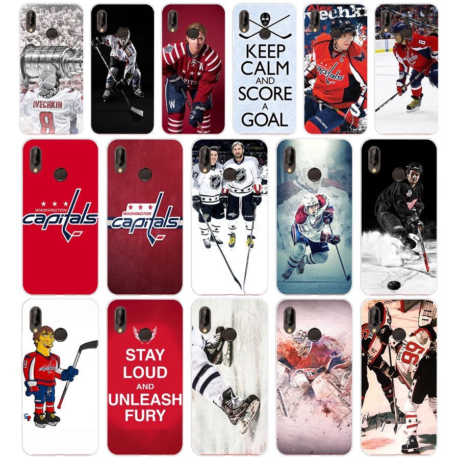 182FG Ice Hockey Alexander Ovechkin Sidney Soft Silicone Tpu Cover Case for huawei Mate P20 P30 Llte Pro Y6 Y7 2019(China)