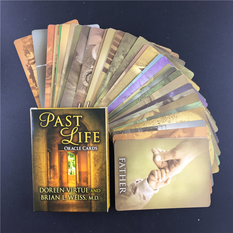 Full English Past Life Oracle Cards Tarot Cards Board Games Cards For Family Party Game