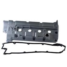 2241023762 алюминиевый сплав головка цилиндра двигателя крышка клапана и прокладка для 02-04 hyundai Elantra Tiburon 2.0L