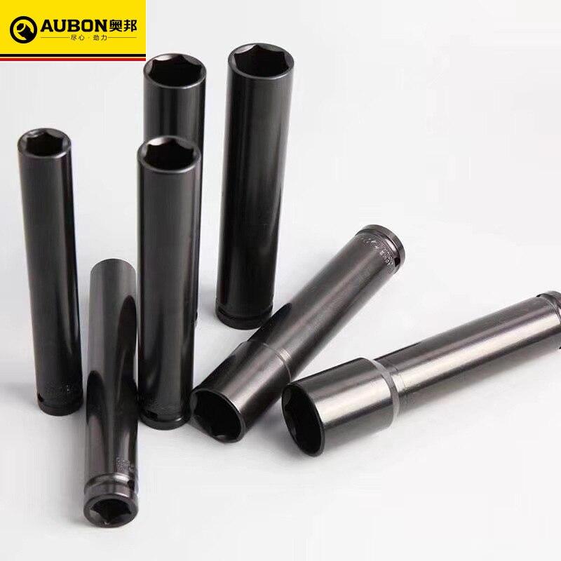 24mm preto soquete pneumático extra-profundo 15cm 20cm comprimento