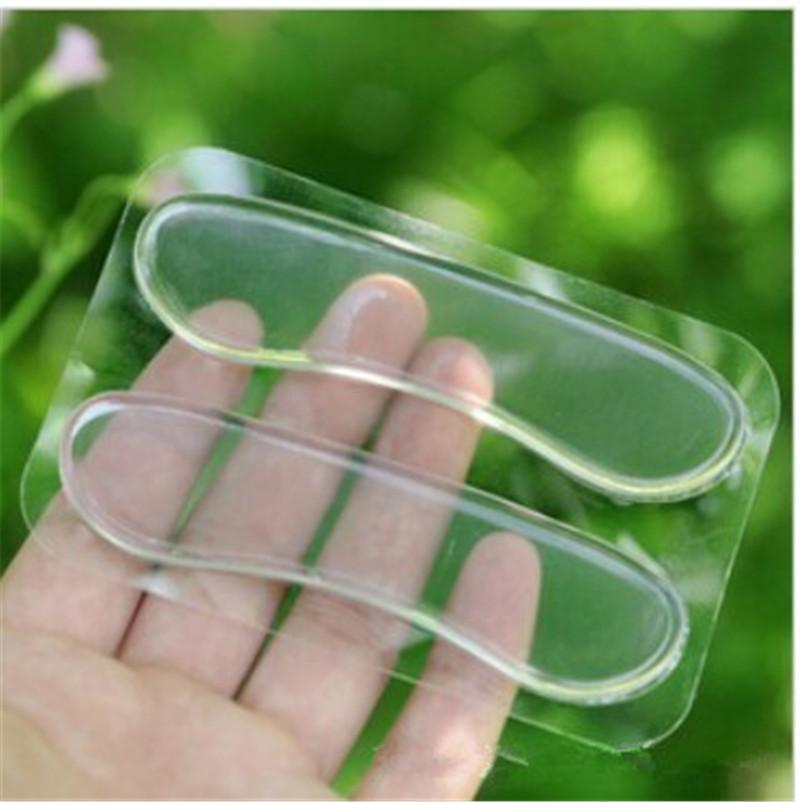 Silicone Gel Heel Protector Soft Cushion Protector Foot Feet Care Shoe Insert Pad Insole Shoes Accessories Insoles For Shoes