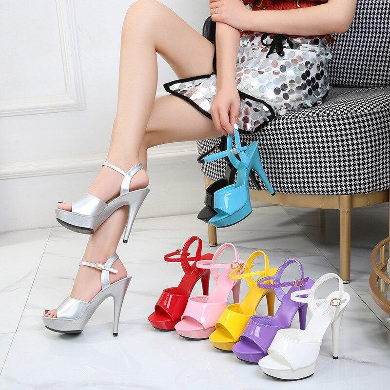 Mclubgirl Women's Sandas Sexy Heels