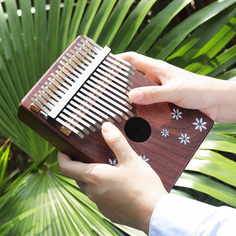 mbira natural portátil teclado instrumento