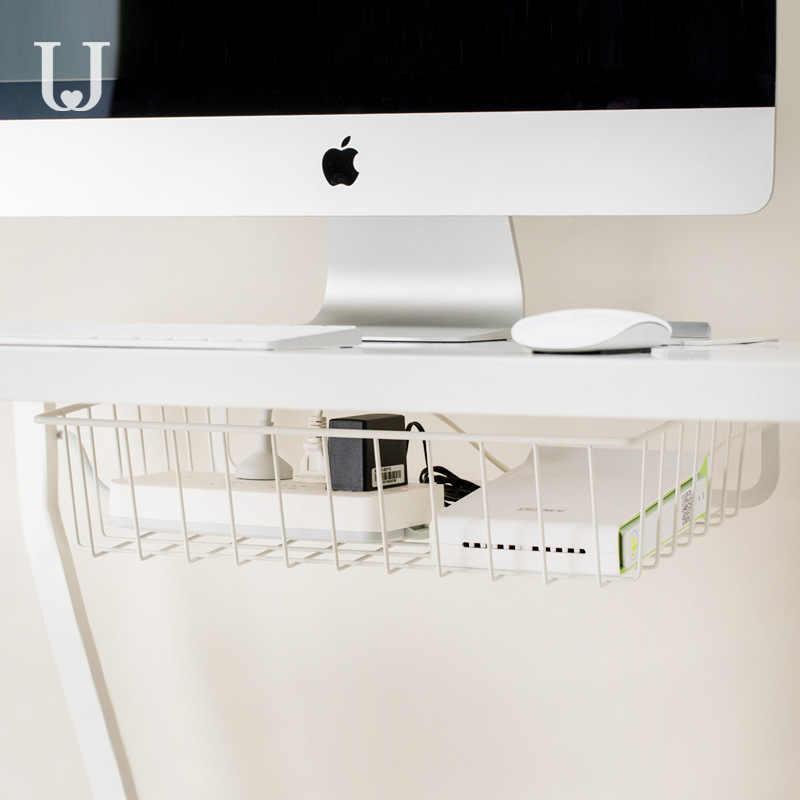 Xiaomi Jordan & Judy Hängende Lagerung Rack Kein Stanzen Einfache Schmiedeeisen Schreibtisch Lagerung Rack Artefakt