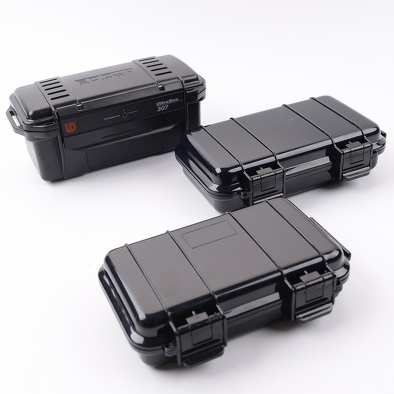 NOutdoor Shockproof Sealed Waterproof Safety Case ABS Plastic Tool Box Dry Box Safety Container Storage Carry Box Outdoor Tools