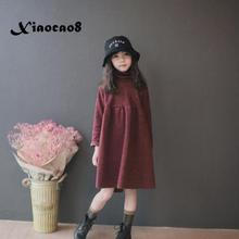 Girls Dress Kids Autumn Spring Long Sleeve Dresses for Girls Casual Tops Baby Toddler Girl Princess Dress Children Fall Clothes цены онлайн