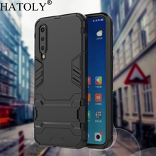 HATOLY For Armor Case Xiaomi Mi 9 SE Cases Shockproof Robot Silicone Rubber Hard Back Phone Cover Mi9SE 9SE