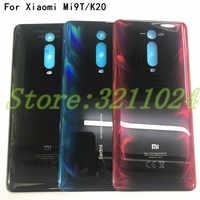 """100% Original 3D Glass 6.39 """"pour Xiao mi rouge mi k20/K20 Pro/mi 9T mi 9T couvercle de batterie arrière porte boîtier arrière pièces en verre"""
