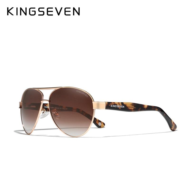 KINGSEVEN 2021 Official Debut Sunglasses Men/Women's Polarized Sun glasses 2