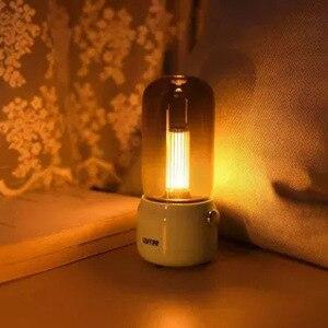 Image 5 - لوفري شمعة ضوء الرجعية 1800k اثنين من وسائط الضوء USB شحن/عمود شحن LED ضوء شمعة مصباح طاولة الإبداعية