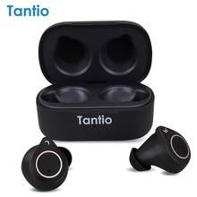 TWS W1 BT5.0 Bluetooth Earphone, High Performance Totally True Wireless Earphones Waterproof IPX7/Touch/aptX Codec/Qualcomm/CVC8