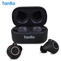 Tantio W1 aptx Bluetooth Earphone with Qualcomm Chipset Touch Control High Performance TWS Totally Ture Wireless Earphones