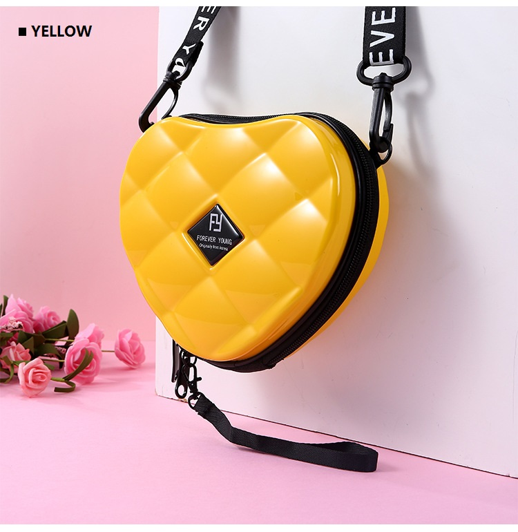 H7cdcde67bd3e473db66c15361b2c29a3C - Fashion Luxury HandBags Heart Shaped PVC Mini Shoulder Bag for Woman Fashion Designer Personality Small Box Women Purses