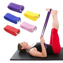 Yoga Tension Band Adjustable Fitness Belt Sports Flexible Straps Gymnastic Exercise Rope Soft Tension Stretching Strap