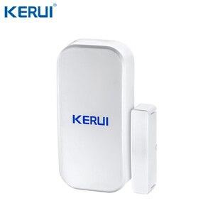 Image 3 - Kerui K52 gran pantalla táctil sistema de alarma WIFI/GSM pantalla Color TFT de alarma de casa de seguridad del sistema Detector de movimiento PIR