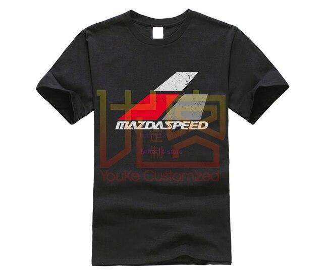 Mazdaspeed T-Shirt Summer men's Printed T-shirt