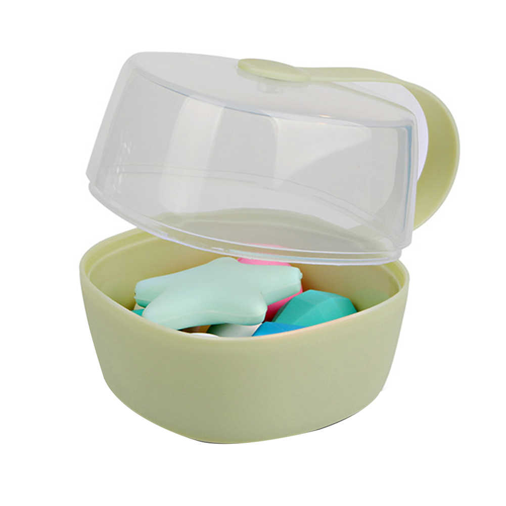 Infant Kid Travel Soother Pacifier Dummy Storage Case Box Cover Holder CSY