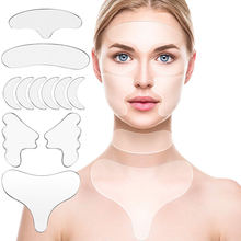 11 шт многоразовые силиконовые морщинки снятие наклейка лицо
