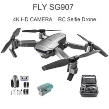 SG907 RC Helicopter Selfie Drone 4K HD Camera 2.4G GPS Follow Aerial Photography wifi FPV RC Quadcopter Kid's Toys Droshipping(China)