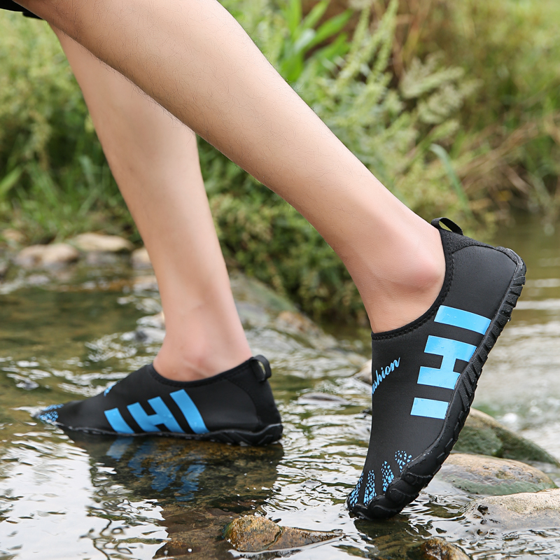 Men Aqua Shoes Barefoot Men Beach Shoes for Women Upstream Shoes Breathable Hiking Sport Shoe Quick Dry River Sea Water Sneakers