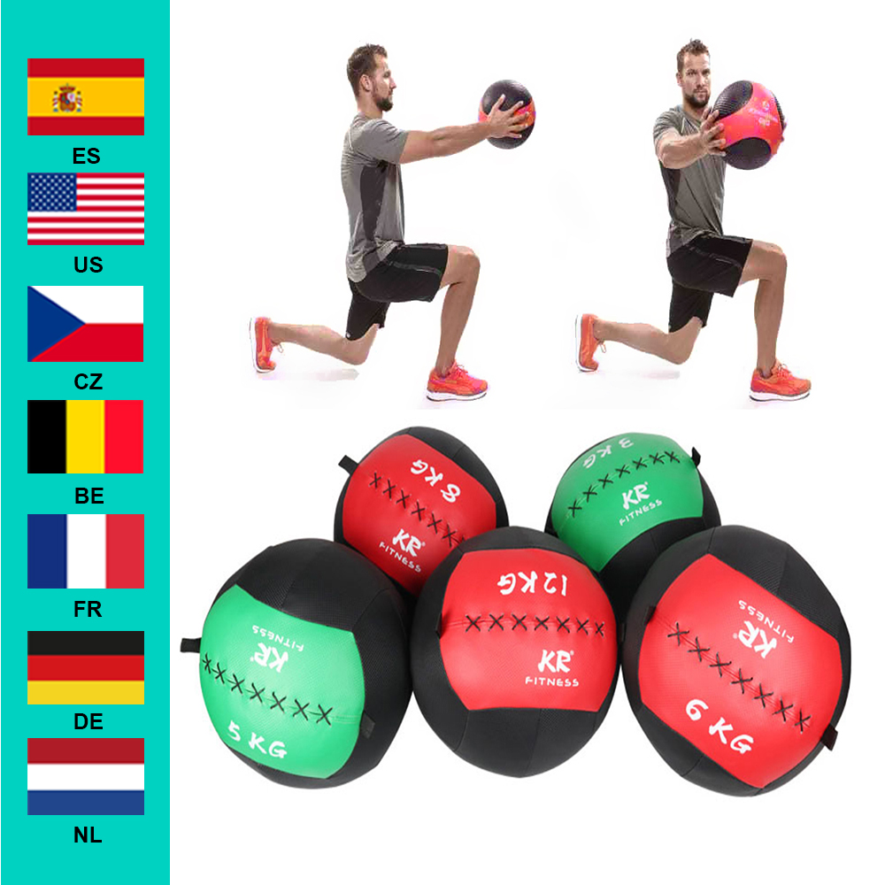 35cm Medecine Balle Vide Arrache Mur Balles Exercice Robuste Kettlebell Levage Fitness Mb Muscle Batiment Nouveau Aliexpress