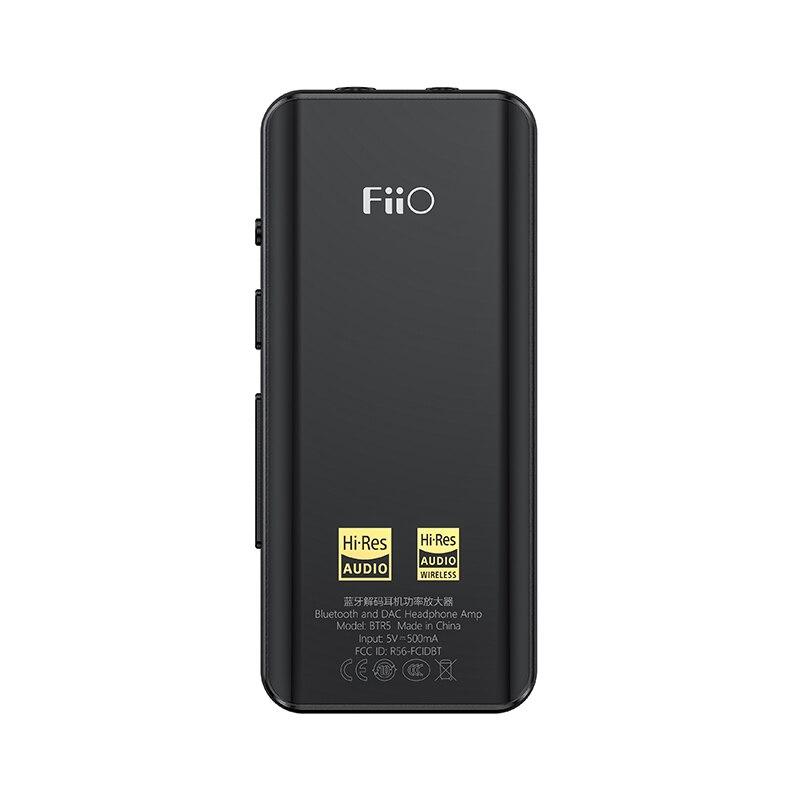 Image 4 - FiiO BTR5 portátil Bluetooth amplificador de auriculares CSR8675 tecnología AptX HD tecnología LDAC USB DAC AAC iPhone Android 3,5mm 2,5mm de Audio de alta fidelidad, decodificadorAmplificador de auriculares   -