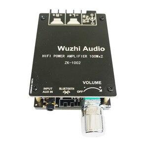 Image 3 - ZK 1002 HIFI 100WX2 TPA3116 Bluetooth 5.0 גבוהה כוח דיגיטלי מגבר אודיו סטריאו לוח מגבר Amplificador קולנוע ביתי