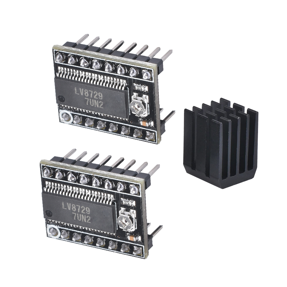1pc 3d printer MKS-LV8729 V1 high-subdivision stepper motor driver Board Module