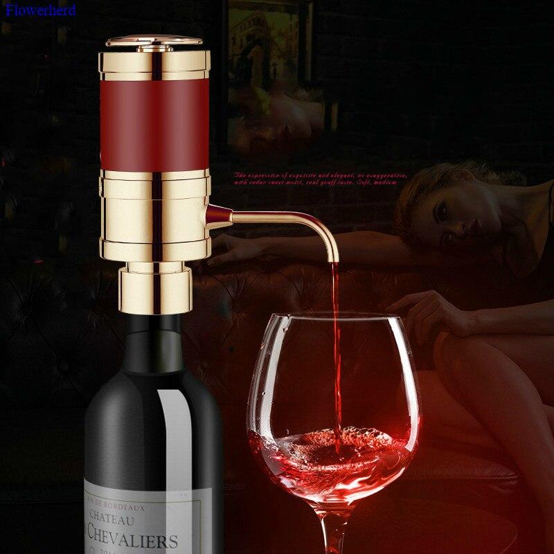 Nouveau une seconde à décanter outil de Bar à vin avec bouton-poussoir séparateur de vin électrique à piles rapidement oxydant les déformations
