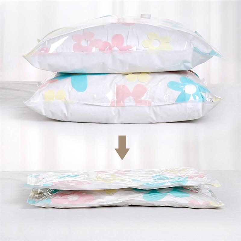 OUNONA 11 шт вакуумные сумки для хранения одежды одеяла подушки сжатый мешок Экономия пространства уплотнение пакет для шкафа шкаф