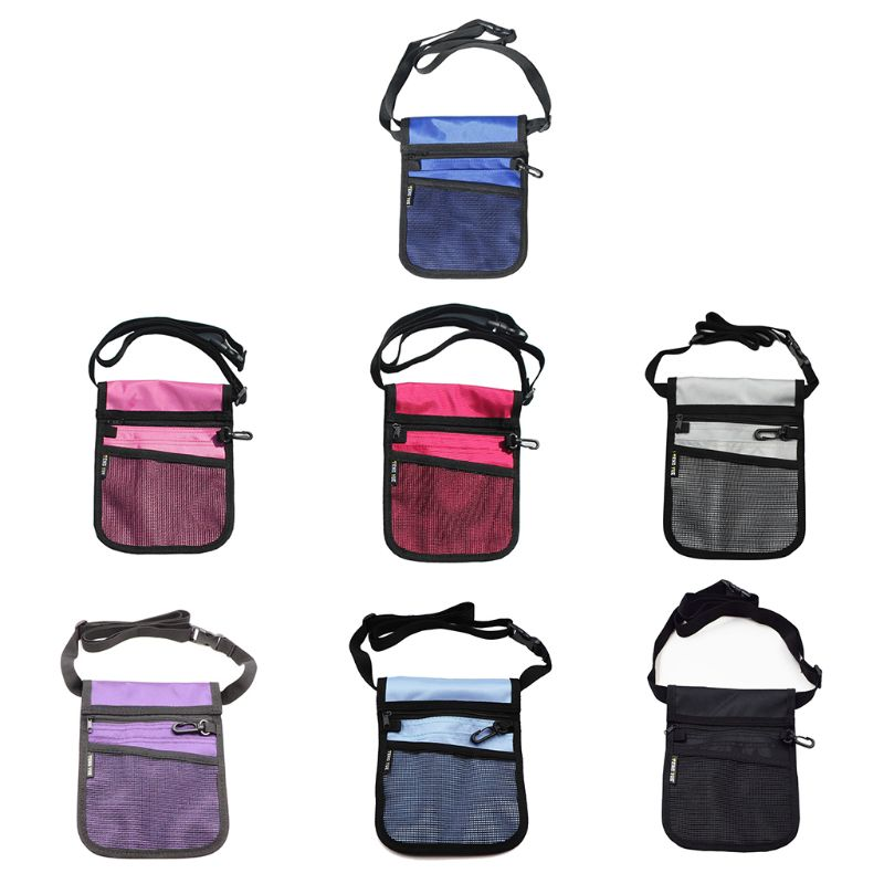 Multifunction Fanny Pack Nursing Belt Organizer Handbag For Women Nurse Waist Shoulder Bag Lady Casual Crossbody Messenger Bag